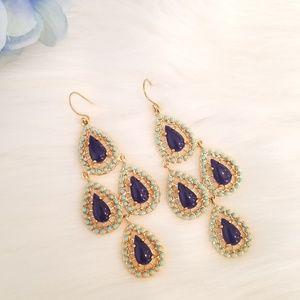 New stella&dot seychelle earrings